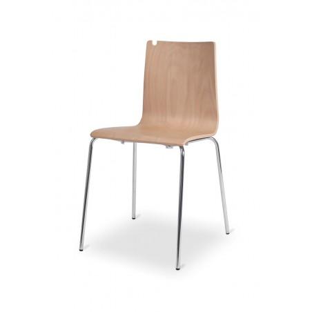 Krzesło LUNGO CR/Buk sklejka